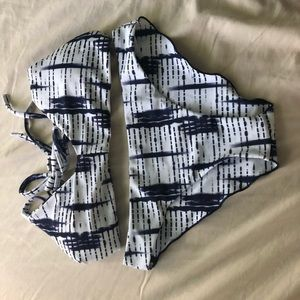 Zaful Tie Dye Bikini